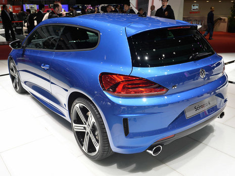 Geneva 2014: Volkswagen Scirocco Facelift