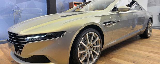 Geneva 2015: Aston Martin Lagonda aduce Taraf-ul pe Batranul Continent