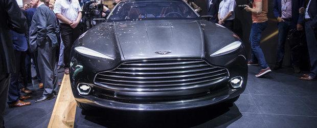 Geneva 2015: Aston Martin socheaza cu un crossover-coupe electric