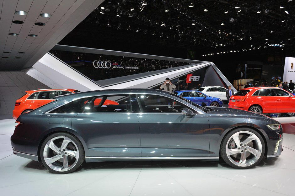 Geneva 2015: Audi Prologue Avant Concept