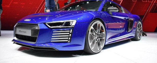 Geneva 2015: Audi R8 e-tron promite 462 CP electrici si 450 km autonomie