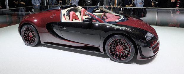 Geneva 2015: Bugatti ne face cunostinta cu ultimul Veyron construit