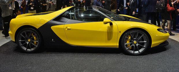 Geneva 2015: Ferrari Sergio omagiaza geniul lui Sergio Pininfarina