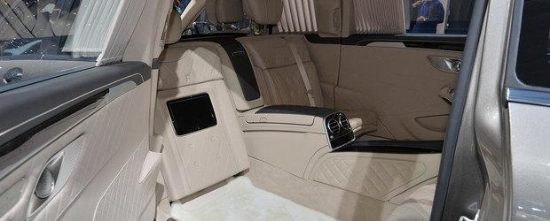 Geneva 2015: Mercedes-Maybach S600 Pullman, definitia luxului suprem
