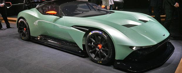 Geneva 2015: Noul Aston Martin Vulcan pare desprins din seria AVP