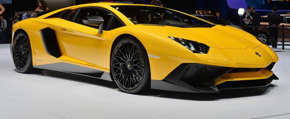 Geneva 2015: Noul Aventador SV arata fioros, ofera 750 CP la 1.525 kg