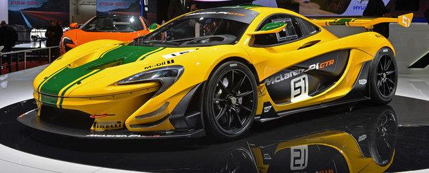 Geneva 2015: Noul McLaren P1 GTR vine cu 1.000 CP si aerodinamica avansata
