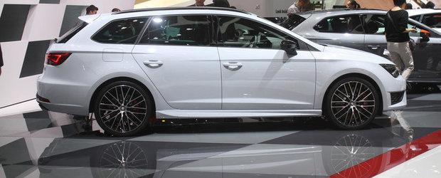 Geneva 2015: SEAT Leon ST Cupra ne intampina cu pana la 280 CP si 1.470 litri