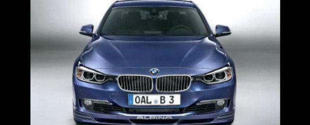 Geneva Motor Show 2013: Alpina prezinta modelul B3 Biturbo