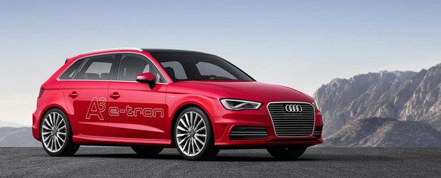 Geneva Motor Show 2013: Audi va prezenta modelul hibrid A3 e-tron