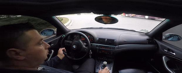 Genul asta de sofer nu merita sa conduca un BMW M3