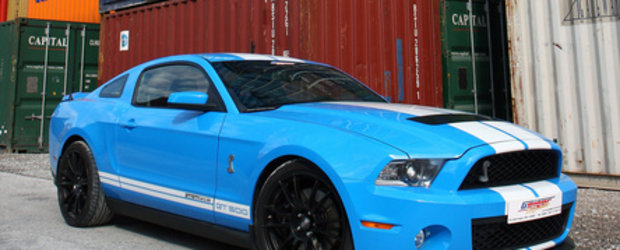 German muscle car: Shelby GT500 by Geiger Cars