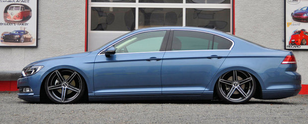 Germanii pun pe burta noul Volkswagen Passat B8!