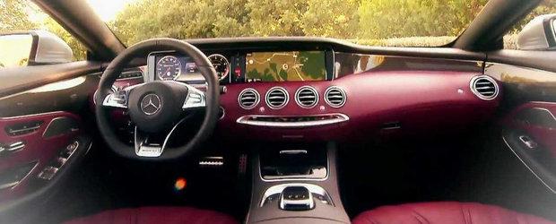 Germanii sunt fascinati de frumusetea noului Mercedes S63 AMG Coupe