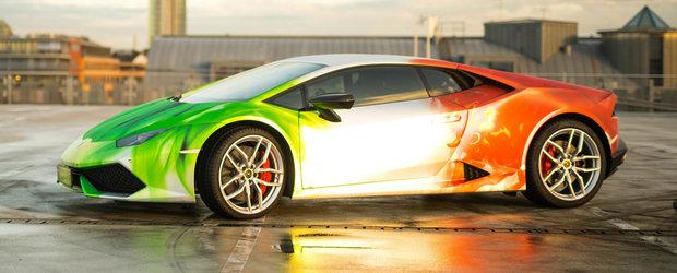 Germanii vin cu folia de 10 mii euro. Norocosul? Un Lamborghini de 610 CP!