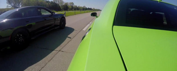 Ghici cine castiga: Intrecere intre noile Dodge Charger si Challenger Hellcat
