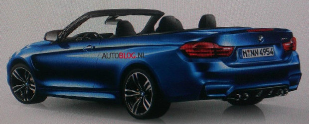 Ghici, ghicitoarea mea: Sa fie oare acesta noul BMW M4 Convertible?