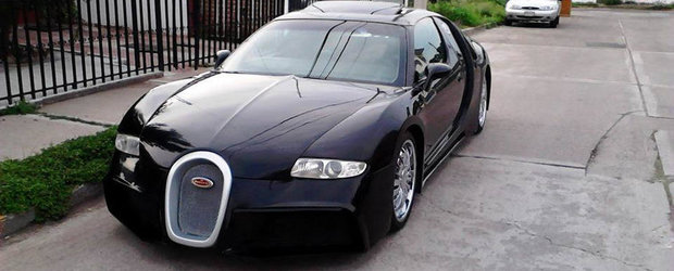 Ghicitoarea Zilei: Ce masina se ascunde sub aceasta caroserie de Bugatti Veyron?