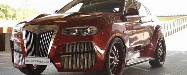 Gluma secolului: Suma ridicola pentru care se vinde cel mai urat BMW X6 din lume