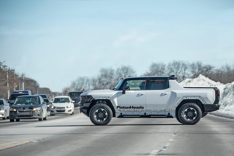 GMC Hummer EV - Poze spion