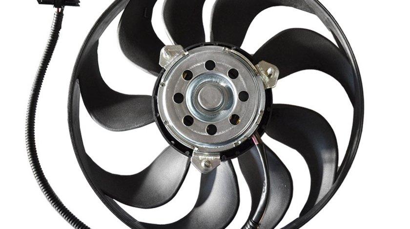 GMV radiator Electroventilator Skoda Fabia 6Y 2000-2007, Seat Cordoba Ibiza Vw Polo 9N 2001-2005, Fox (benzina) , 290mm 90W 2pini Kft Auto
