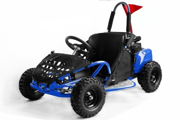 Go Kart BEMI mini Buggy 80cc OHV 4T Albastru
