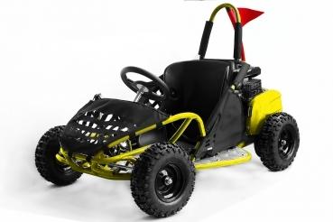 Go Kart BEMI mini Buggy 80cc OHV 4T Galben PRET REAL !