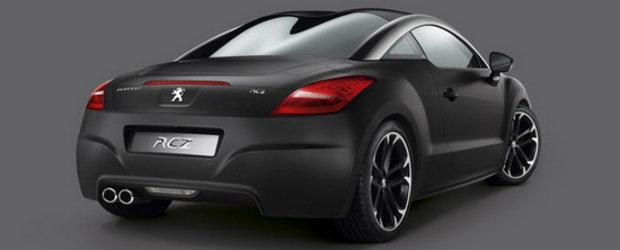 Goana dupa negru mat: Peugeot prezinta RCZ Asphalt Edition