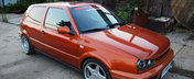 Tuned Up Orange: Golf MK3 GT by Bengy