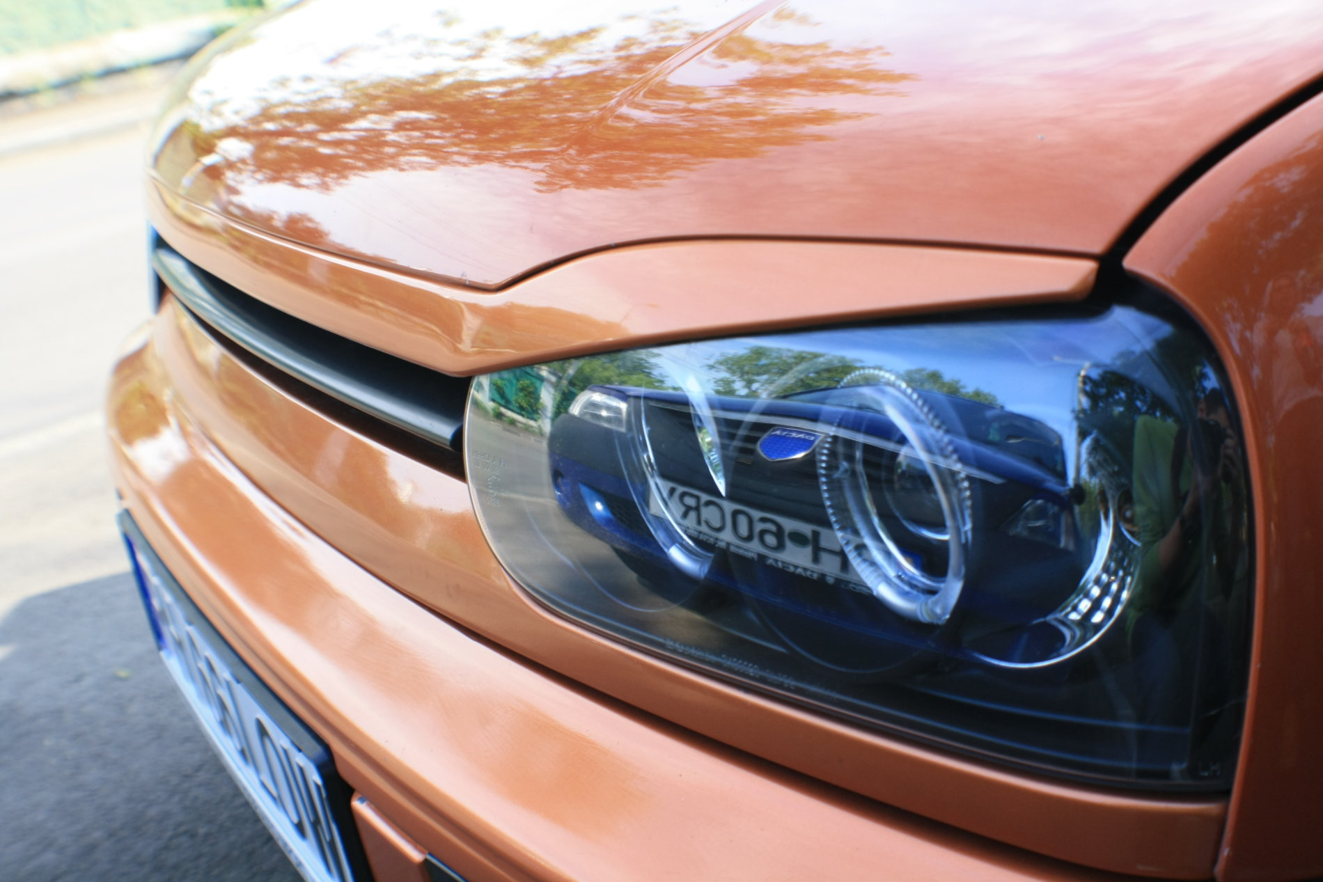 Golf MK3 GT by Bengy - Tuned Up Orange: Golf MK3 GT by Bengy