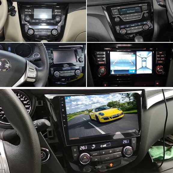 GPS / Navigatie Android Nissan Qashqai / Cadou ~ Camera de mers inapoi Cadou !