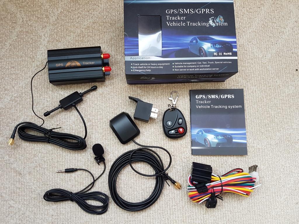 GPS Tracker COBAN GPS103B GSM/GPRS/GPS masini, camioane cu telecomanda alarma