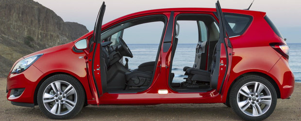 Grabeste-te sa cumperi un Opel Meriva. Monovolumul german e pe cale sa renunte la usile de Rolls-Royce
