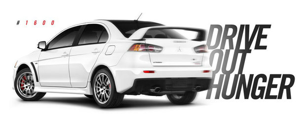 Grabeste-te sa pui mana pe el. Este ultimul Mitsubishi Lancer EVO fabricat!