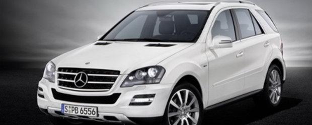 Grandioso: Mercedes prezinta M-Class Grand Edition