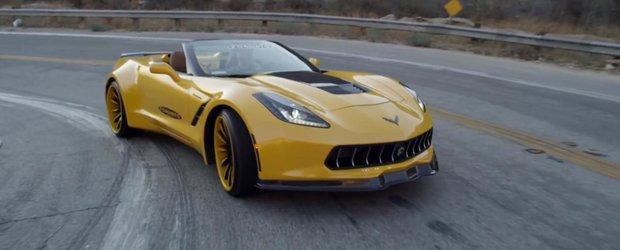 Grila activa Forgiato iti face Corvette-ul mai aerodinamic
