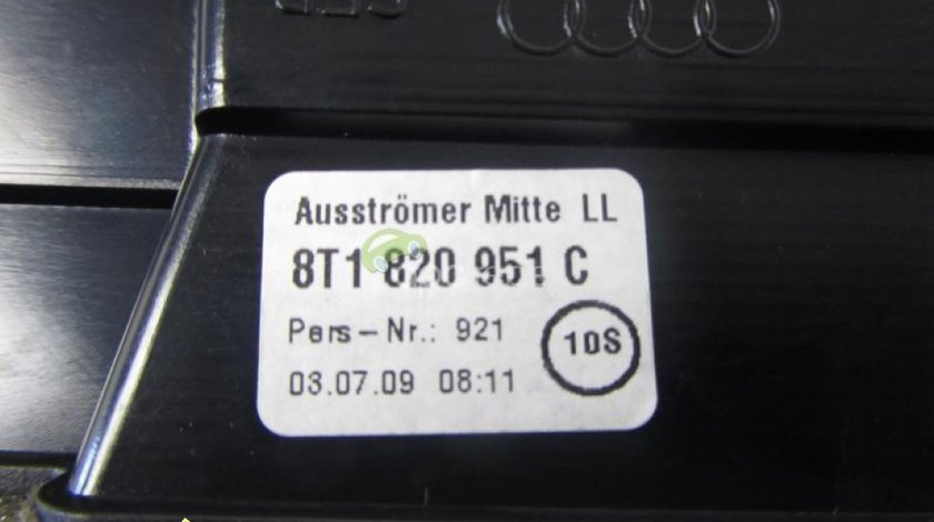 Grila aer centrala originala Audi A4 8K A5 8T