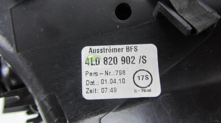 Grila aer dreapta originala Audi Q7 4L cod 4L0820902 S