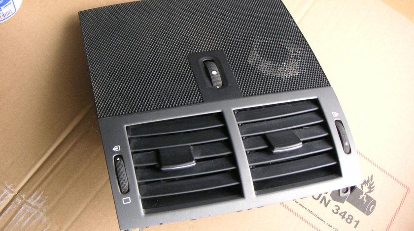 Grila aerisire centrala bord Peugeot 407 (2004-2008) cod 9644589777