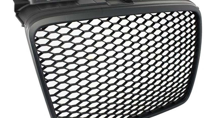 Grila Audi A4 B7 (04-07) RS Design Negru Mat