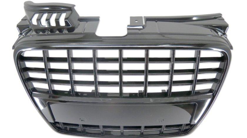 Grila Audi A4 S4 B7 culoare neagra