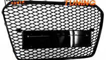 GRILA AUDI A5 8T FACELIFT RS DESIGN (12-15) NEGRU ...