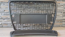 Grila Audi A6 4F C6 (04-11) Negru Mat RS Design