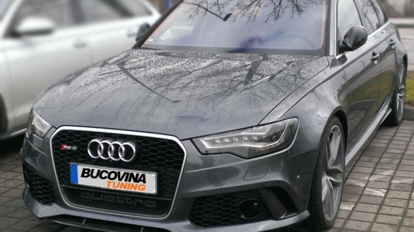 Grila Audi A6 4G (2010-2014) RS6 quattro Design