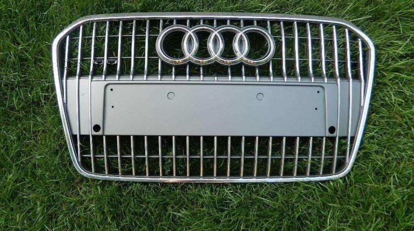 Grila Audi A6 C7 Allroad model dupa 2011 cod 4G0853653C
