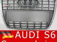 Grila Audi A6 S6 4F = Premium Edition (grile noi) Gri sau Negre