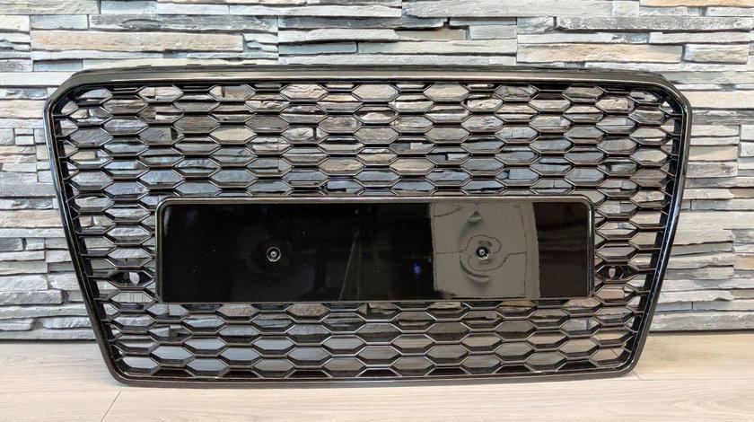 Grila Audi A7 4G Pre-Facelift Piano Black (2010-2014) RS7 Design