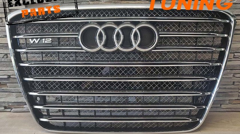 Grila Audi A8 D4 (09-13) W12 Design