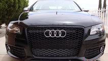 Grila Audi RS4 A4 B8 2008-2012 - FULL BLACK