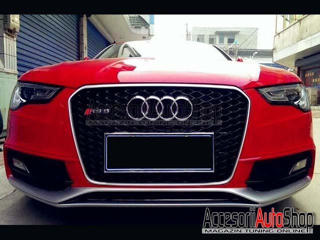 Grila Audi RS5 A5 8T Facelift 2012-2015